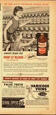 "1953 Vintage ad for Hood ""33"" Bleach`Art, Grocery Store`Mom/Daughter (042714)"