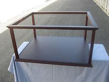 Vitrine für Schiffsmodell 60 x 50 x 26 cm Innenmaß, Mit Plexiglas, ohne Modell