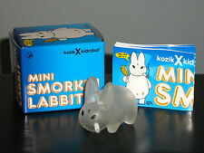 CLEAR SMORKIN' LABBIT NOW WITH FRIED CHICKEN ~ KIDROBOT X KOZIK