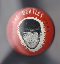 A&BC-BEATLES TIN BADGE- JOHN LENNON - RARE ITEM!!!