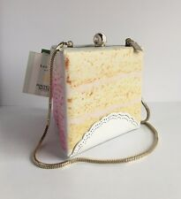 NWT Kate Spade Magnolia Bakery Slice Of Cake Dessert Clutch Shoulder Bag Purse