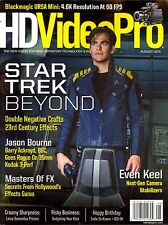 HD Video Pro Magazine August 2016 STAR TREK BEYOND Jason Bourne MASTERS OF FX