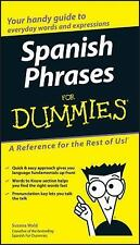 Spanish Phrases for Dummies by Susana Wald (2004, Paperback)