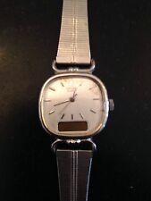 Vintage Seiko Quartz Ladies Stainless Steel Wrist Watch Japan