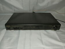 Technics ST-GT350 FM AM Stereo Tuner High Quality Made in Japan with manual