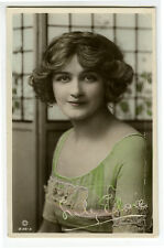 c 1910 British Theater Beauty PRETTY LILY ELSIE Fashion Edwardian photo pcard