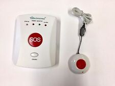GSM Elderly OAP Panic Alarm - Auto Dial Home Safety Alert Care Call Fall Alarm