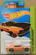 FORD ORANGE MUSTANG 1969 BOSS 302 69 HW HOT WHEELS