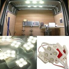 40 LED Waterproof Truck/Cargo White Bed Lighting Light Kit For LWB Van Lorries