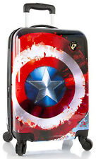 "Heys America Luggage Marvel Captain America 21"" Spinner Carry On Suitcase NEW"