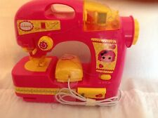 Lalaloopsy girls sewing machine pink  corded  2013 with foot pedal and thread