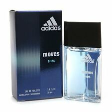 ADIDAS MOVES HIM 1.0 oz / 30 ml EDT Spray Men NEW IN BOX