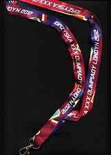 LONDON 2012 official Lanyard Polish Olympic Commitee NOC Keychain POLAND