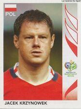 N°064 JACEK KRZYNOWEK # POLAND STICKER PANINI WORLD CUP GERMANY 2006
