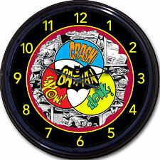 Batman Robin Super Hero Wall Clock  Classic Comics Movie Gotham DC Retro New 10""