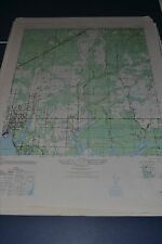 1940's Army topo map Parker Florida  3844 II NE
