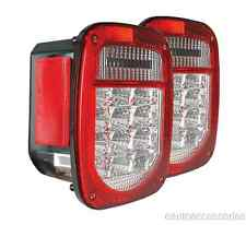 Red & Clear LED Tail Light Kit fits 76-06 Jeep Wrangler Anzo 861082