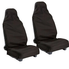 Nissan Most Models Water Proofed Seat Covers Occasional Use Black Cover Pair