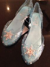 Disney store Frozen Elsa Shoes Size 13-1 Brand New Tags last 4 pairs