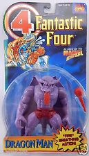 FANTASTIC FOUR 4 DRAGON MAN ACTION FIGURE MARVEL COMICS FIRE BREATHING MONSTER X