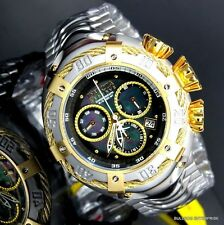 Invicta Reserve Thunderbolt 52mm Black MOP Swiss Movement Chronograph Watch New
