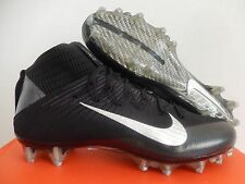 NIKE VAPOR UNTOUCHABLE 2 BLACK-METALLIC SILVER-ANTHRACITE SZ 9 [824470-002]