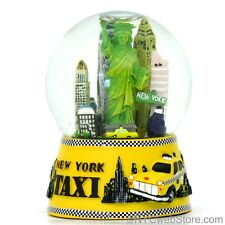 New York City Snow Globe Taxi Souvenir from NYC Online Gift and Collectible Shop