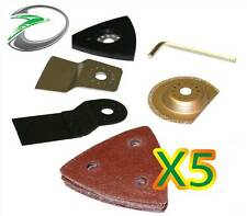 Combi Combo Oscillating Tool Accessory Blade Sander Accessories Pack