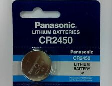 1 pc x Panasonic CR2450 3V coin button cell battery