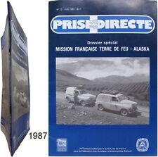 Prise Directe n°12 1987 revue Renault mission française Terre de Feu-Alaska déb.