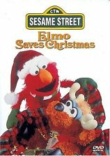 Sesame Street: Elmo Saves Christmas (2002, REGION 1 DVD New)