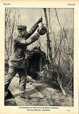 1917 * Westfront: Gasalarm * Die Bratpfanne als Glocke *  WW1