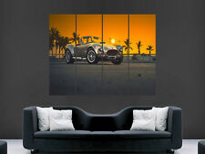 AC COBRA CLASSIC SPORTS CAR FAST SUNSET   GIANT POSTER PRINT ART