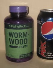 Large Bottle, Wormwood, 200 day supply, 430 mg per capsule