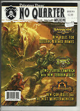 PRIVATEER PRESS NO QUARTER MAGAZINE - #9 (WARMACHINE, HORDES, IRON KINGDOMS)