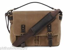 ONA Prince Street Tan Canvas Camera / Messenger Bag - Handcrafted Premium Bags