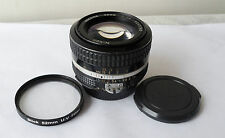Nikon AI-s 50mm f/1.4 Lens AiS Nikkor 50 mm f1.4 Manual Focus Lens.