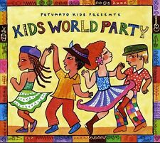 Kids World Party - Putumayo Kids (2011, CD NEUF)