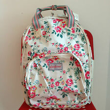 BNWT Cath Kidston Thorp Flowers Multi Pocket Backpack (Cream)