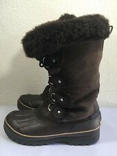 Khombu Women's Nordic Waterpoof Winter Boots, Brown, Size 8M, Look Cool @@