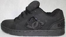 DC Women Clemente Black Leather Skate Shoes US Shoe Size 6 M