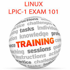 LINUX PROFESSIONAL INSTITUTE CERTIFICATION EXAM 101 Video Training Tutorial DVD