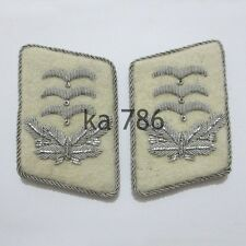 WW2 German Luftwaffe H-G Division Hauptmann Collar Tabs