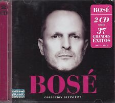 Miguel Bose Coleccion Defenitiva 2CD New nuevo sealed 37 GRANDES EXITOS
