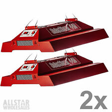 California Lightworks SolarStorm 440w Watt LED Grow Light Solar Storm, 2 Pack