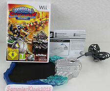 Skylanders Superchargers Racing Starter Pack WII-solo gioco & NUOVO portale