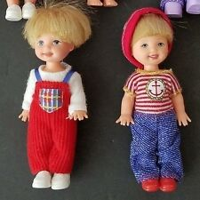 Barbie Kelly Club TOMMY DOLL lot of 2 1990s Boy Clothing shoes