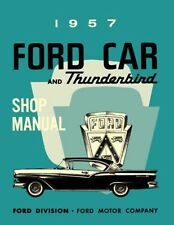 1957 Ford Shop Service Repair Manual Book Engine Drivetrain Electrical OEM Guide
