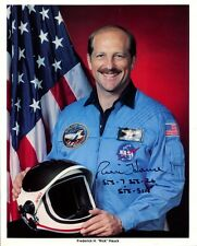 Shuttle Astronaut FREDERICK H. HAUCK Signed Photo