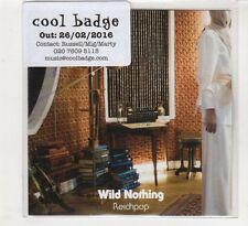 (HD178) Wild Nothing, Reichpop - 2016 DJ CD